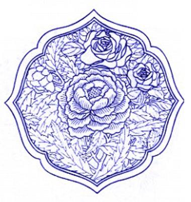 青花瓷瓶花纹简笔画_青花瓷瓶花纹简笔画大全分享
